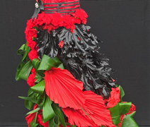 Floral Flamenco Dress