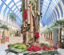 Contemporary Christmas Tree - National Flower Show Blackpool