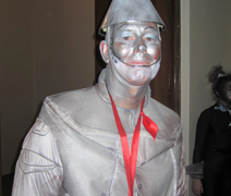 Panto make up - The Tinman Wizard of Odd