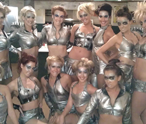 Barbarella Space Girls - Goodwood