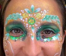 Festival glitter mask