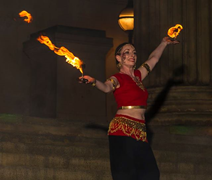 Light Night Liverpool 2018 with Bring The Fire Project
